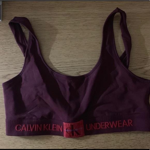 e5d0bd261f7ee0 Calvin Klein Underwear Other - Calvin Klein Monogram Logo Unlined Bralette